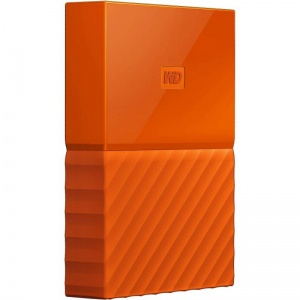 4TB WD My Passport Portable Hard Drive-Orange