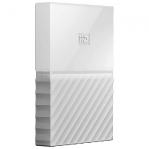 4TB WD My Passport Portable Hard Drive-White
