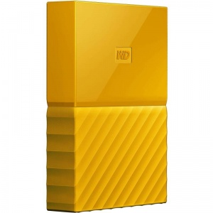4TB WD My Passport Portable Hard Drive- yellow