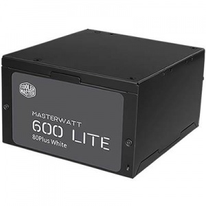 600W Coolermaster Masterwatt Lite 230V, 120mm FAN ...