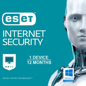 ESET Internet Security OEM 1 Device 1 Year (e Licence only NO DISK)