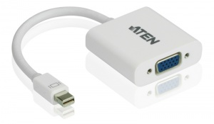 Mini DisplayPort(M) to VGA(F) Adapter