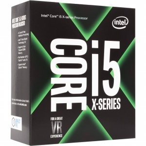 Intel Core X i5-7640X 4Ghz Kabylake-X Quad-Core s2...