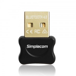 Simplecom NB405 USB Bluetooth 4.0 CSR Adapter Wire...