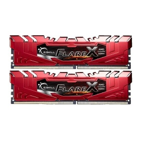 16GB G.Skill DDR4-2400 Dual Channel Flare X [F4-24...