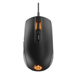 SteelSeries Black Rival 100 RGB 4000DPI Gaming Mou...