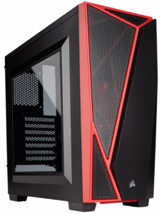 CORSAIR Carbide SPEC-04 Mid-Tower Gaming Case, Bla...