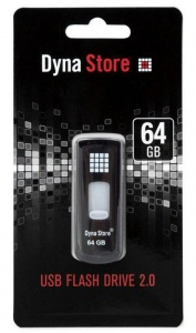64GB Toshiba Dyna Store USB 2.0 Flash drive black