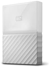 1TB WD My Passport USB3.0 Portable Hard Drive- Whi...
