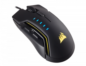 Corsair Gaming GLAIVE RGB Gaming Mouse, Backlit RG...