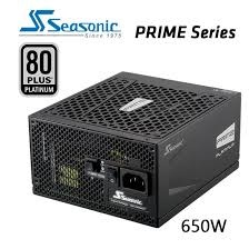 650w SEASONIC Prime 80 plus Platinum SSR-650PD Act...