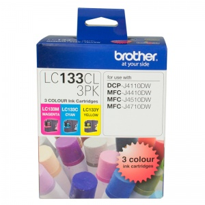 LC133 COLOUR VALUE PACK 1XCYAN 1X MAGENTA 1X YELLO...
