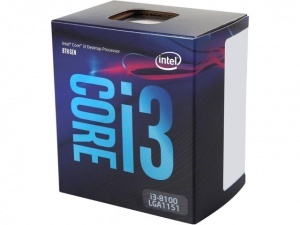 Intel Core i3-8100 Processor (6M Cache, up to 3.60...