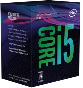 Intel Core i5-8400 Processor (9M Cache, up to 2.80 GHz), LGA1151