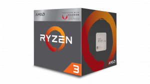 AMD Ryzen 3 2200G, 4-Core/4 Threads, Max Freq 3.7G...