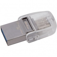 64GB Kingston DT microDuo 3C, USB 3.0/3.1 + Type-C...