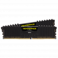 8GB Corsair Vengeance DDR4, 2666MHz 2 x 288 DIMM, Unbuffered,16-18-18-35, LPX Black Heat spreader, 1.2V, XMP 2.0, Supports 6th IntelA® CoreT i5/i7