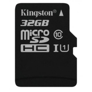 32GB microSDHC Canvas Select 80R CL10 UHS-I Card +...
