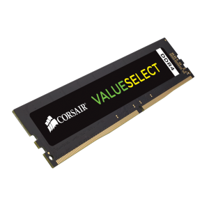 CORSAIR Value Select 8GB DDR4 DRAM DIMM, 2400MHz Unbuffered, 16-16-16-39, 1.20V
