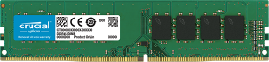8GB Crucial DDR4-2666Mhz PC4-21300 CL19 Single Ran...