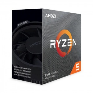RYZEN 5 3600X WITH WRAITH SPIRE COOLER (No Integra...