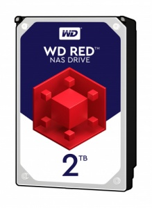 WD Red 2TB NAS 3.5\' 5400RPM SATA3 6Gb/s 256MB Cach...