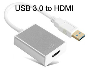 USB 3.0 to HDMI Converter with Audio for Windows O...