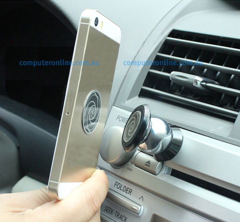 Moblie Phone / PDA: Universal Magnetic Mobile Phone Car Holder