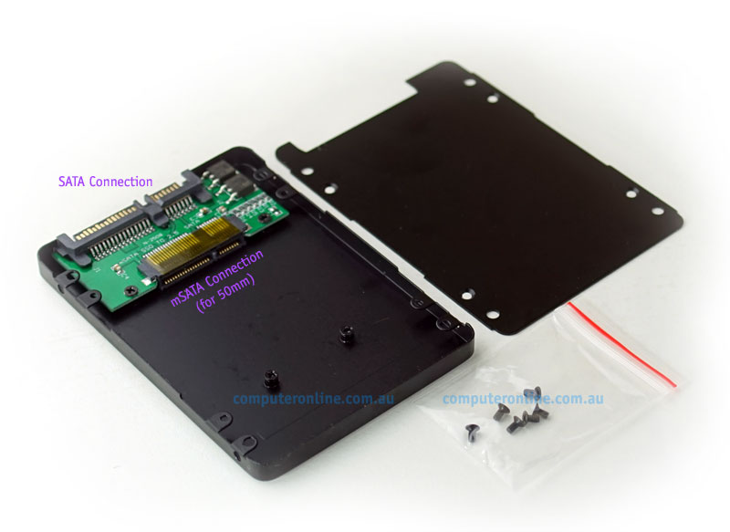 mSATA to SATA box